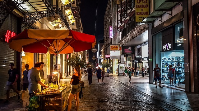 street scene photo